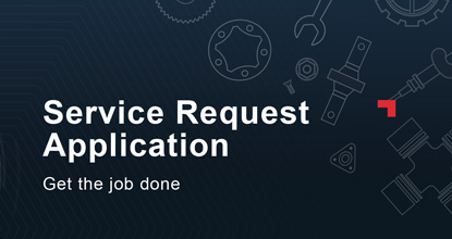 On Key Service Request Application